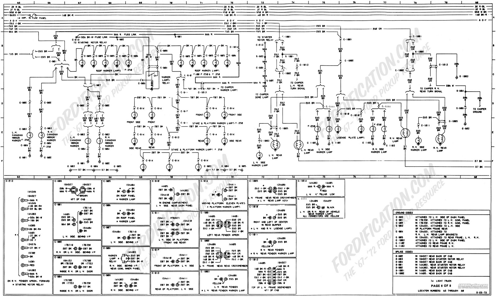 hight resolution of ford f 150 questions are the taillights wired to the highbeam 1978 ford 7000 voltage regulator diagram 1978 f150 wiring diagram lighting