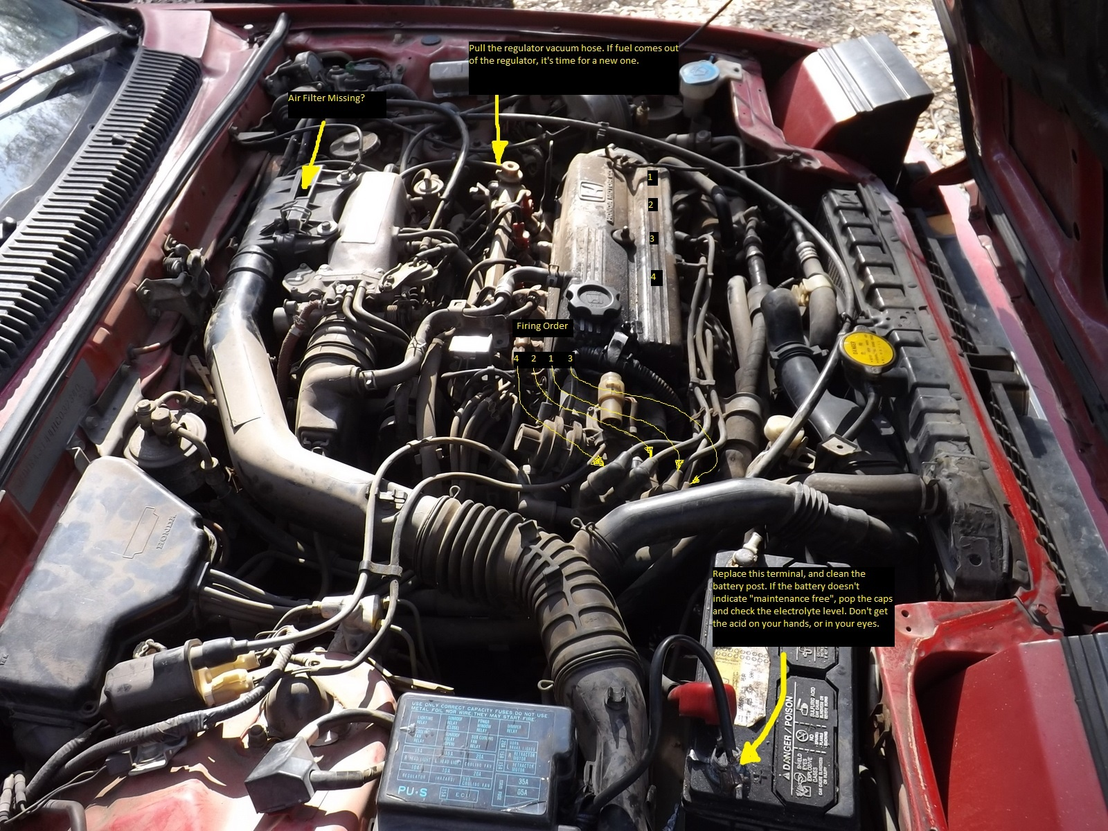 hight resolution of honda prelude questions got a 87 honda prelude si engineshonda prelude fuel filter 13