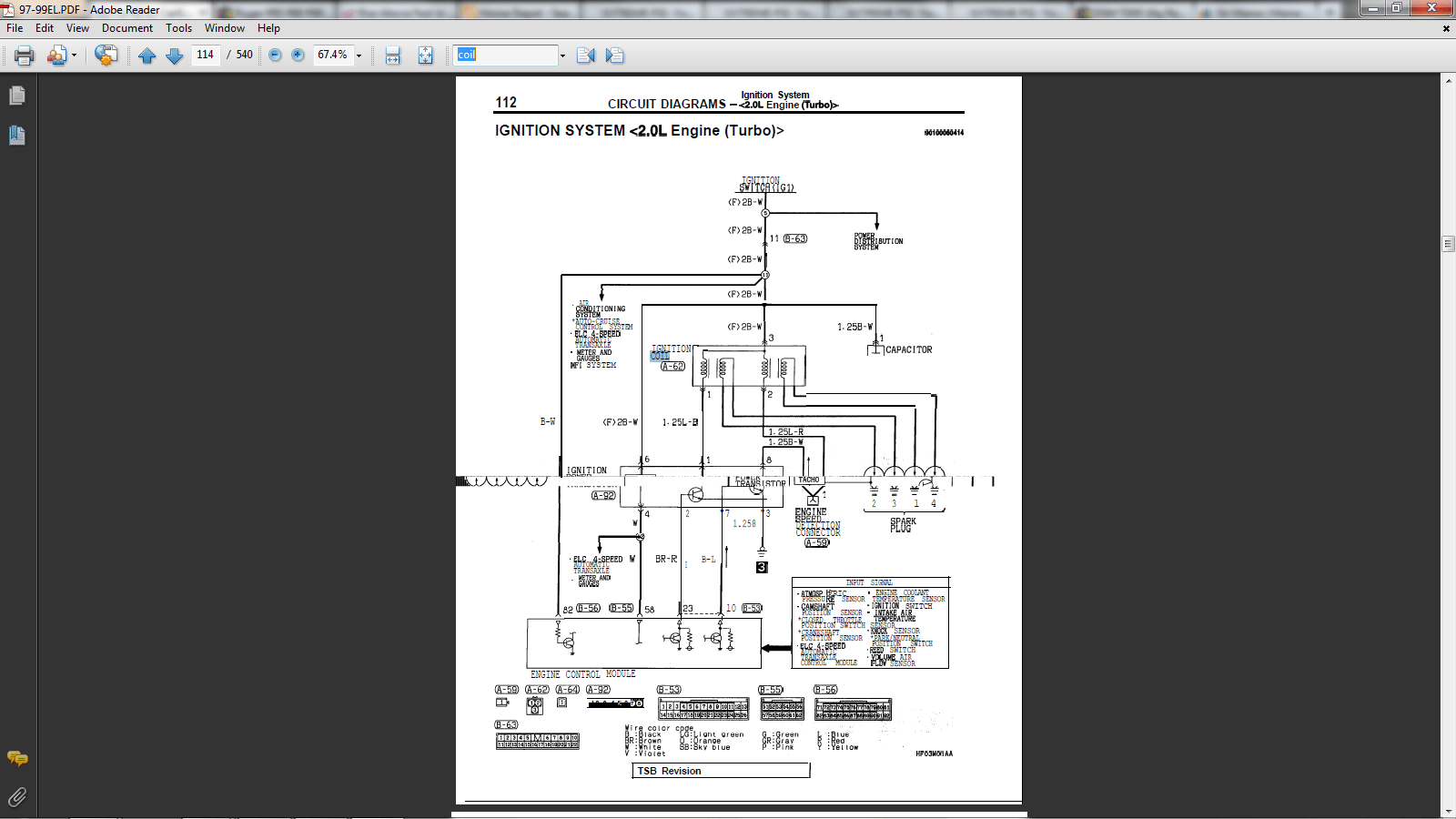 hight resolution of  electrical system schematic 1 people found this helpful eagle talon
