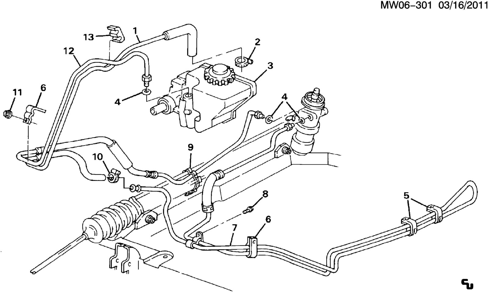 grand prix parts diagram emerson sensi thermostat wiring pontiac questions 1993 power steering pump