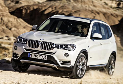 small resolution of 2015 bmw x3 front quarter view exterior manufacturer gallery worthy