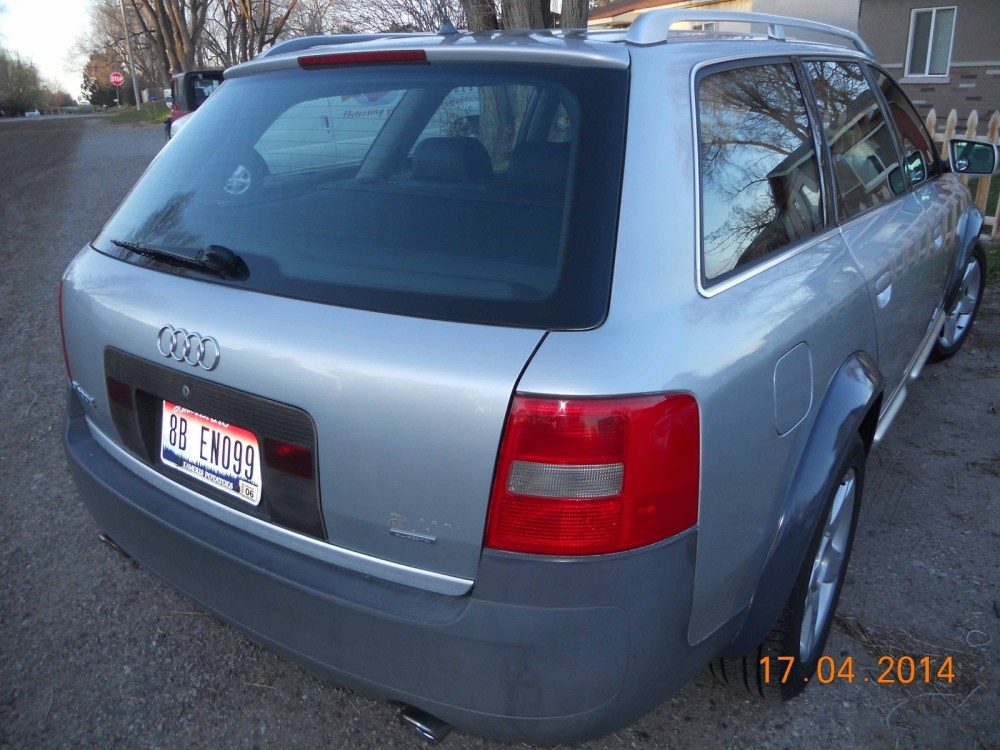 medium resolution of 2001 audi allroad overview