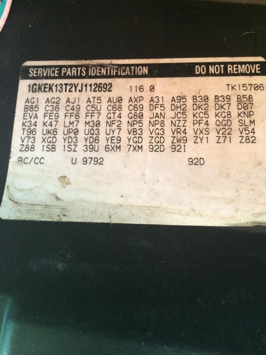 How To Find Axle Ratio Dodge Ram 1500 : ratio, dodge, Chevrolet, Suburban, Questions, Determine, Ratio?, CarGurus
