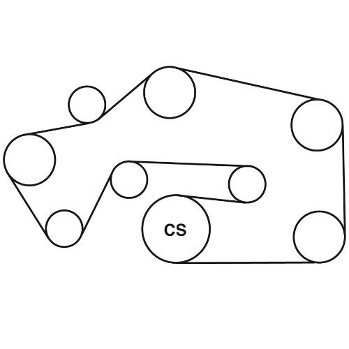 Wiring Site Resource: 2008 Pontiac G6 35 Serpentine Belt