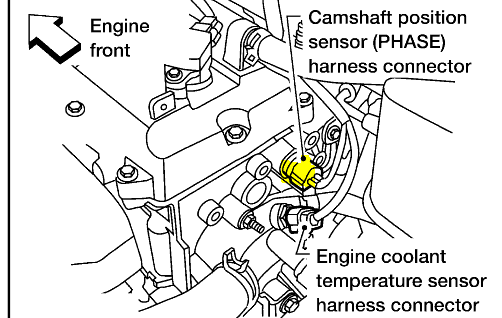2013 Nissan Sentra Crankshaft Position Sensor Location