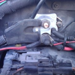1996 Ford Explorer Starter Wiring Diagram To Convert Three Phase Single Motors F-150 Questions - I Need Know Where The Solenoid Is Located On My 2007 F ...