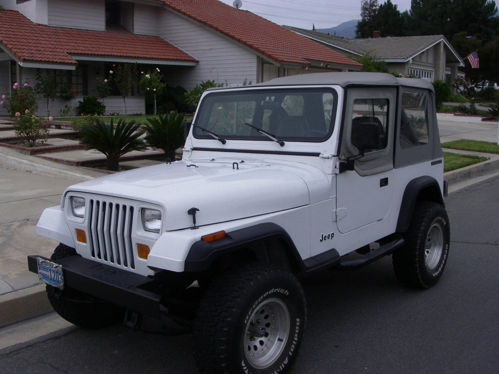 medium resolution of 1989 jeep wrangler overview