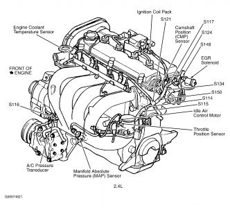 dodge stratus 2 4 engine diagram oxygen sensor auto electrical