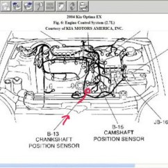 2006 Nissan Altima Radio Wiring Diagram Ryobi String Trimmer Parts Kia Optima Questions - Where Is The Crank Shaft Position Sensor Located On A Cargurus