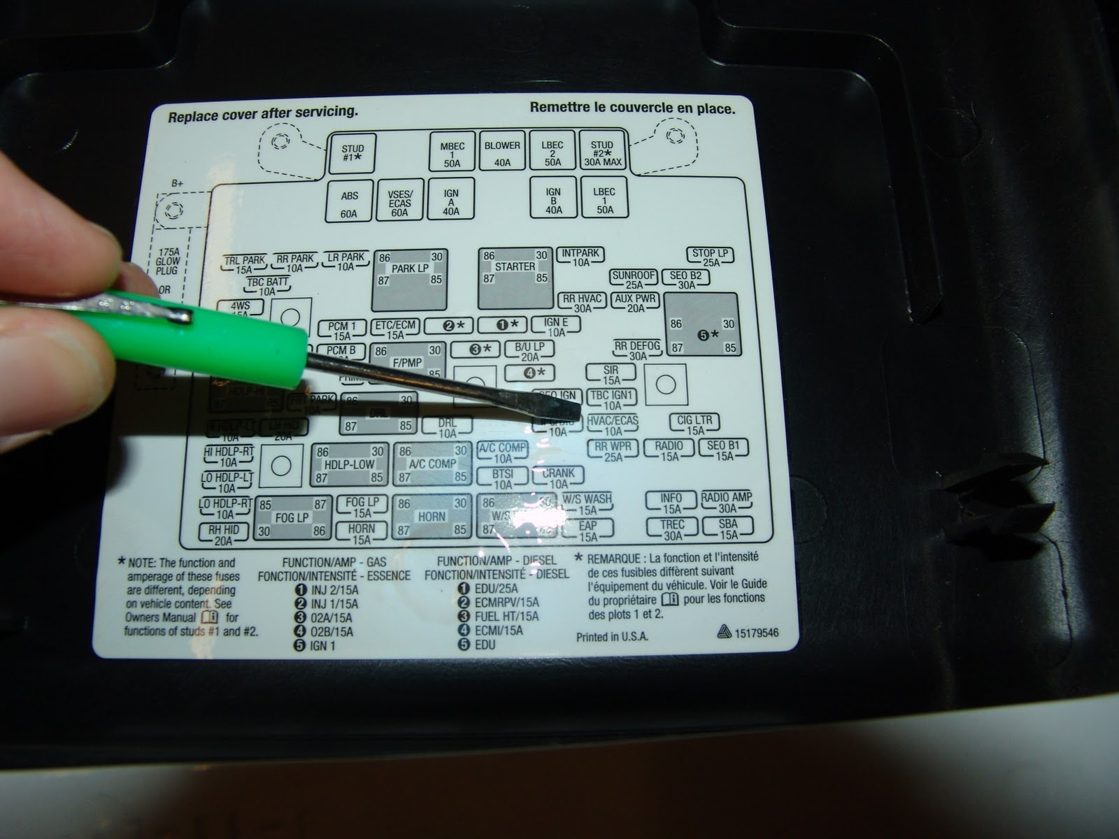 radio wiring diagram for 2006 chevy silverado ceiling fan with light two switches cadillac deville questions - my cadilac 2004 suddenly stopped blowing heat and defrost ...