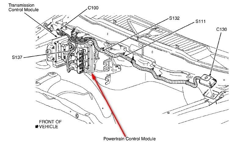 99 Dodge Ram Pcm Harness Dodge Challenger PCM • Wiring