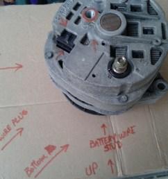 1985 2wire gm alternator wiring [ 1600 x 1200 Pixel ]