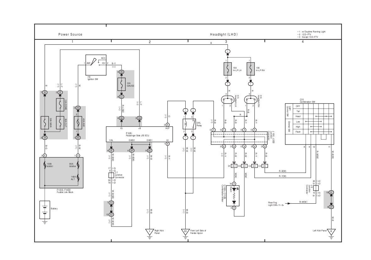 Wiring Diagram Toyota Yaris