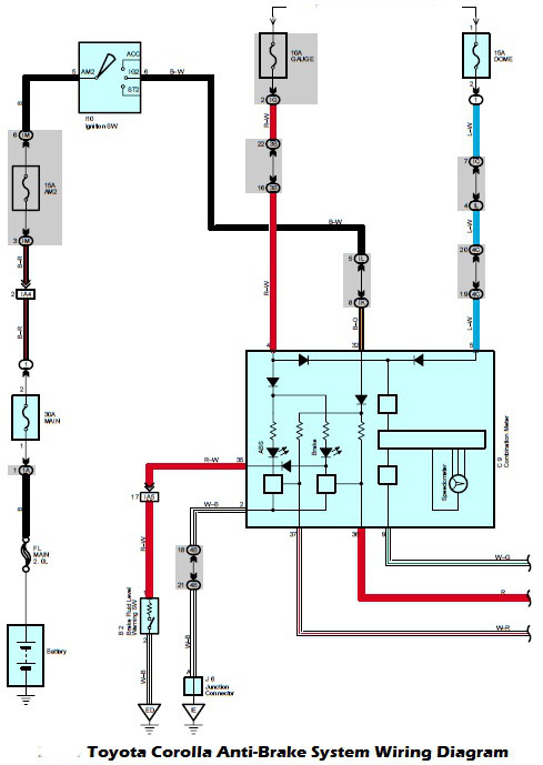 system wiring diagrams toyota 1999 delco radio diagram corolla questions how do i change the alternator fuse in a 2010 cargurus