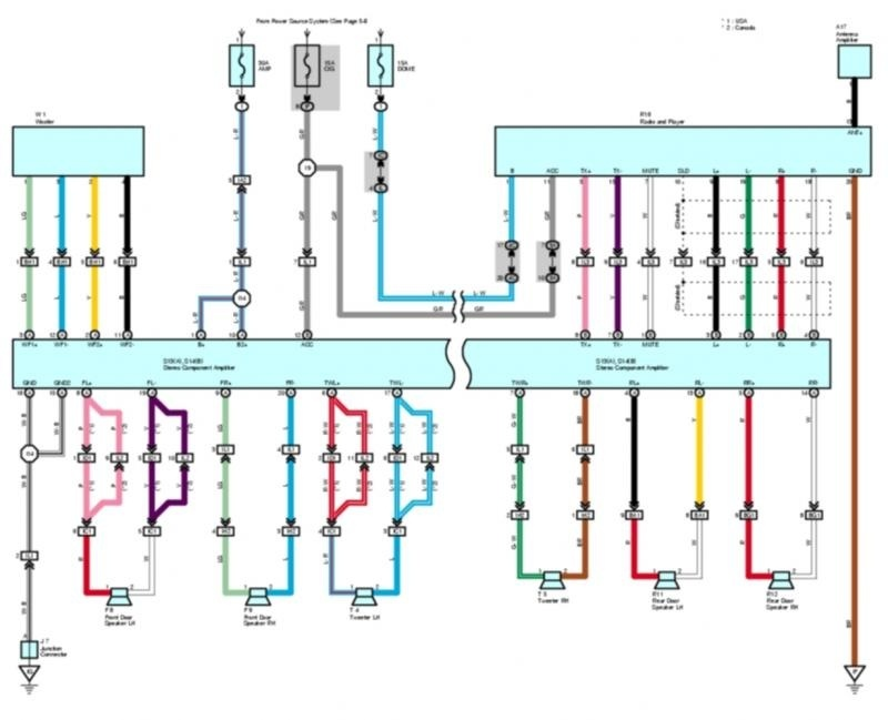 Electrical Wiring Diagram Toyota Corolla 2007