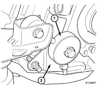 2007 Chrysler Pacifica Motor Mount Diagram. Chrysler. Auto