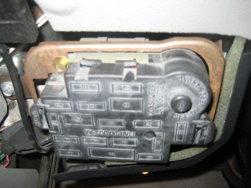 small resolution of mercury grand marquis questions how do i open the inside fuse box6 answers