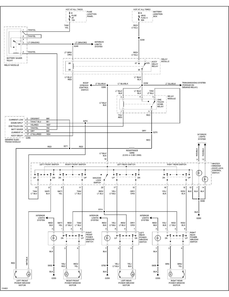 medium resolution of ford explorer questions power windows not working all the fuses 1999 ford explorer power window wiring diagram 1999 ford explorer power window wiring