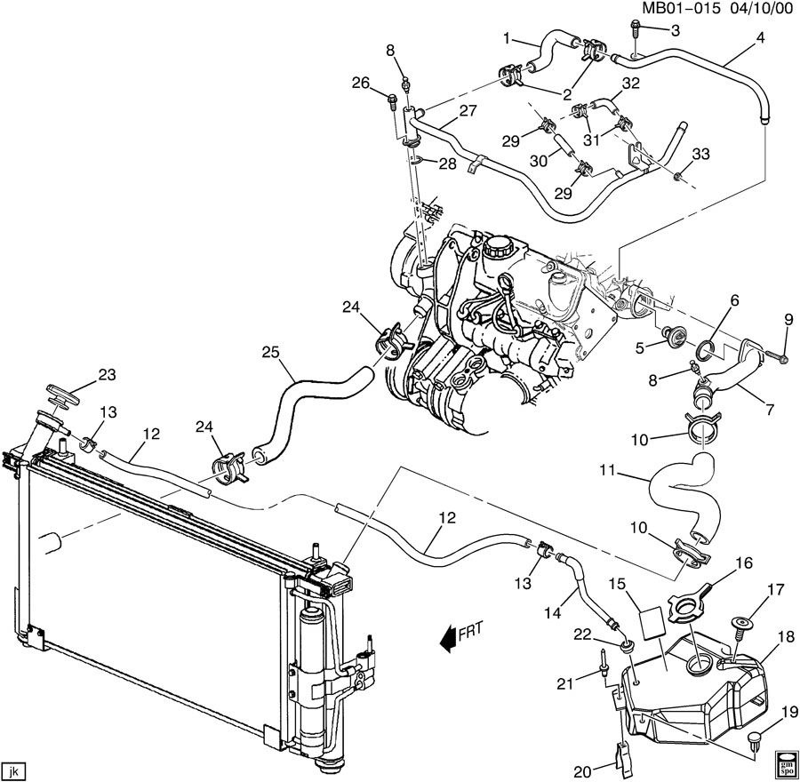 [WRG-7511] 2000 Bonneville Engine Diagram Coolant