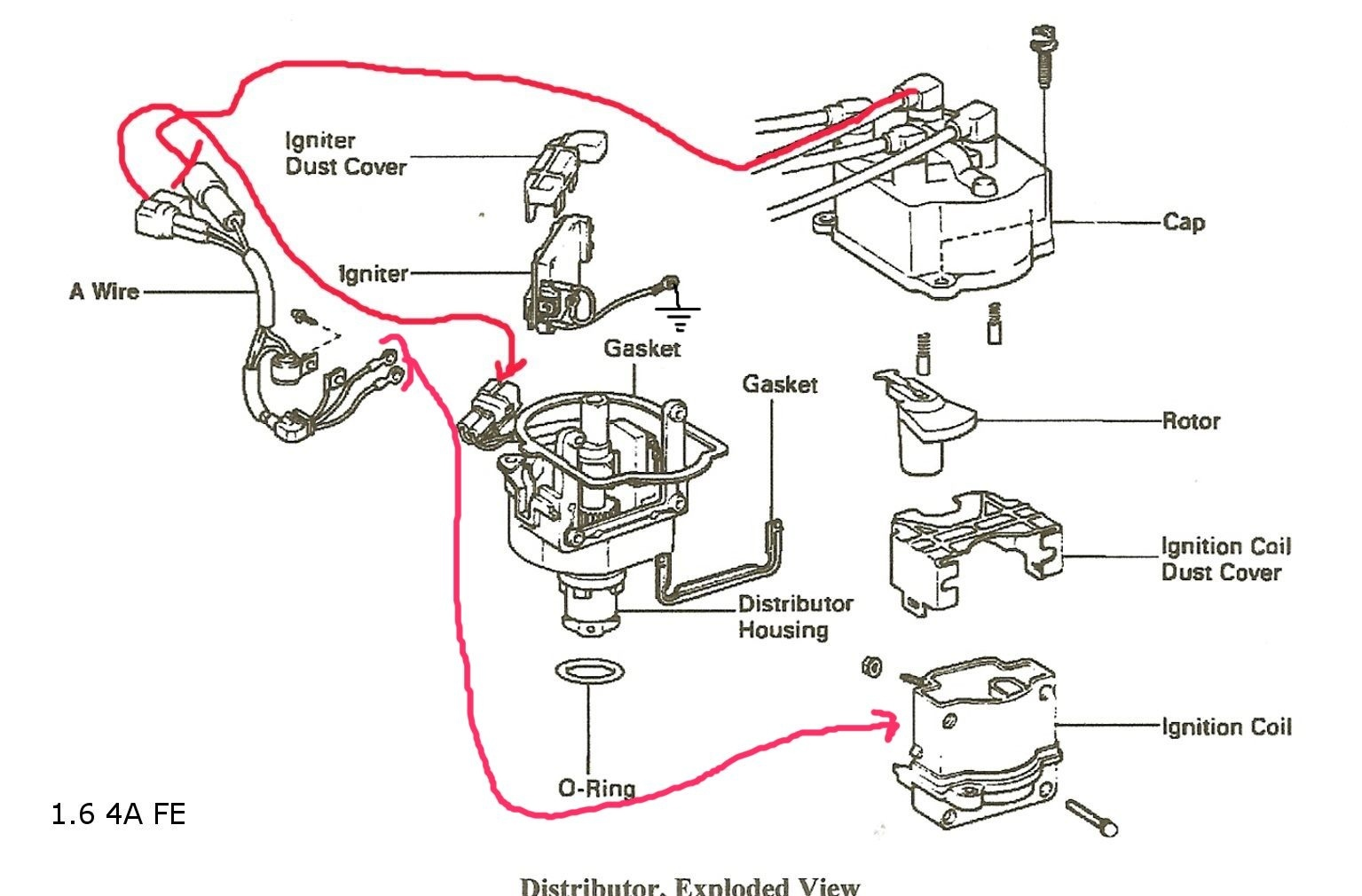 1995 toyota camry engine diagram rj11 socket wiring australia celica questions - does anybody know what can cause an 88 st to not get spark ...