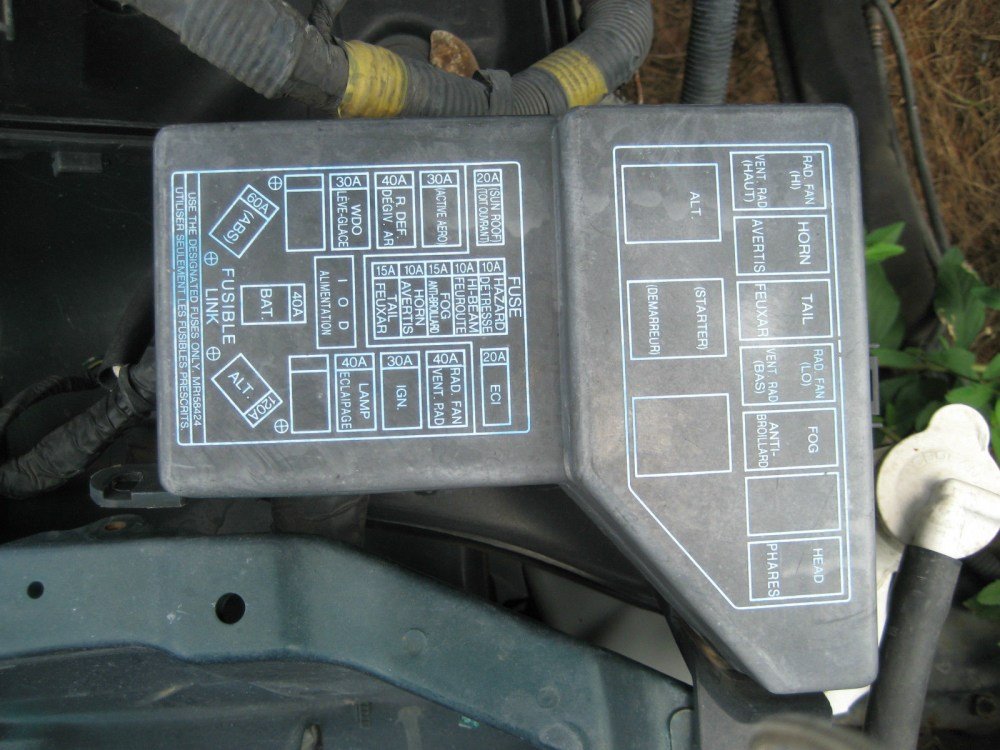 medium resolution of 3000gt fuse box 15 wiring diagram images wiring 1999 3000gt 1995 mitsubishi 3000