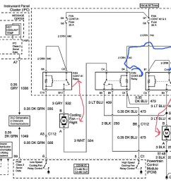 gm electric fan wiring diagram wiring diagram schematics chevrolet impala questions location of cooling fan relay [ 1600 x 1122 Pixel ]