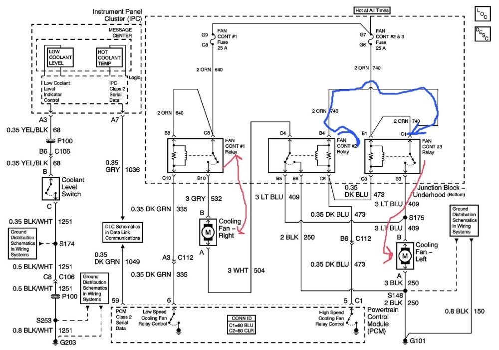medium resolution of gm electric fan wiring diagram wiring diagram schematics chevrolet impala questions location of cooling fan relay