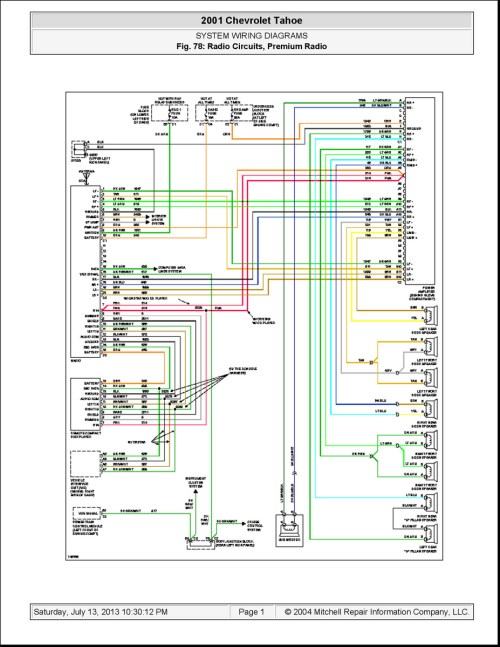 small resolution of 2001 chevy suburban wiring schematic wiring diagrams sapp 01 chevy wiring schematic