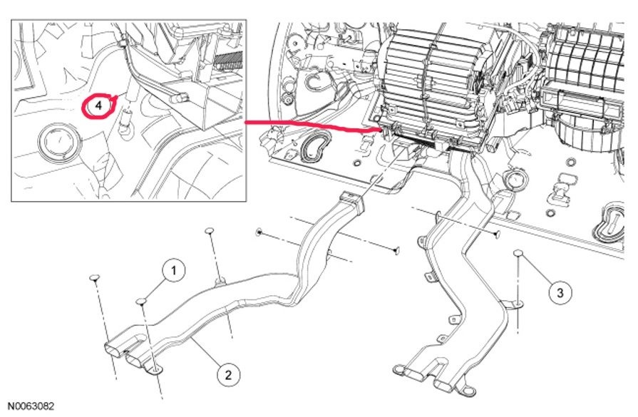 2007 ford f150 brake light wiring diagram l14 30 plug 2005 hvac data schema f 150 questions where is the ac condensate drain tube located carrier bearing