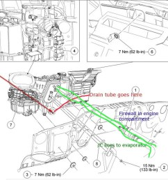 ford f 150 ac drain location on 95 ford explorer blower motor wiring ford f 150 fuel filter replacement 2000 jeep grand cherokee ac diagram [ 1130 x 1024 Pixel ]
