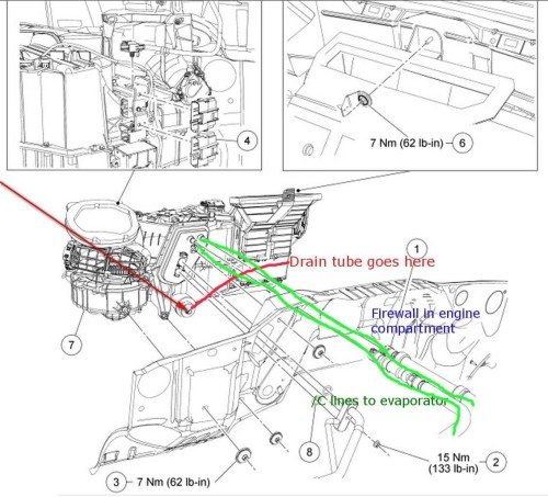 small resolution of ford f 150 ac drain location on 95 ford explorer blower motor wiring ford f 150 fuel filter replacement 2000 jeep grand cherokee ac diagram