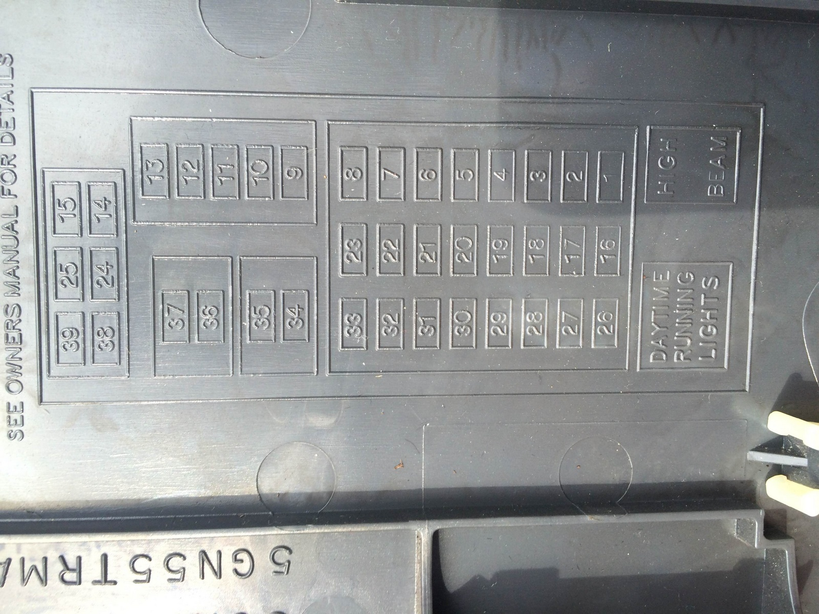 Schematic For 2004 Jeep Liberty Fuse Box