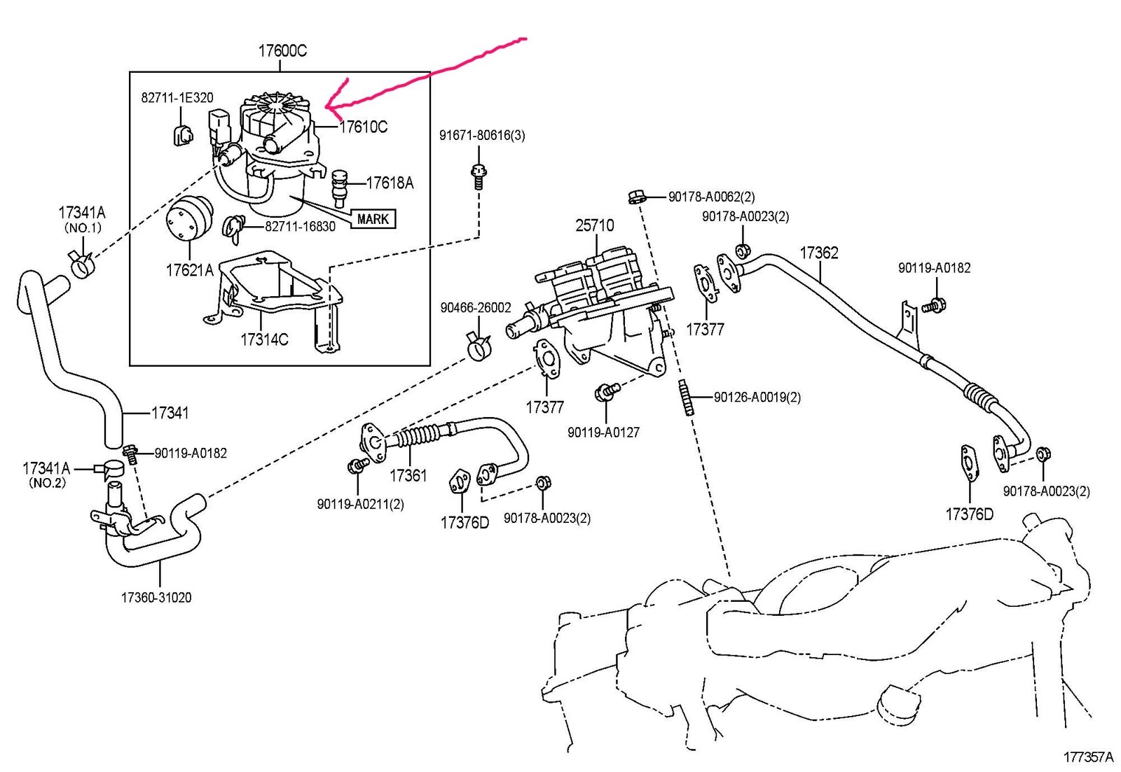 Toyota Tacoma 2 7 Engine Diagram