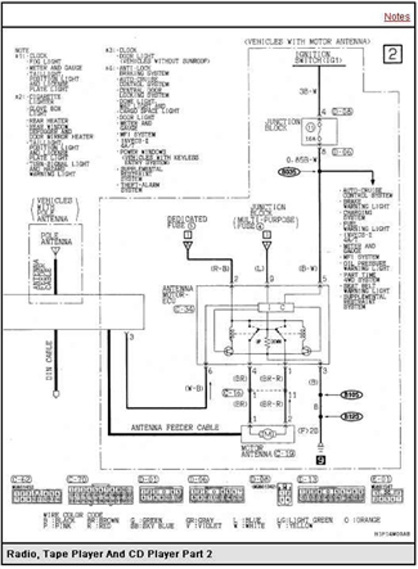 stereo wiring diagram on 2000 mitsubishi eclipse stereo wiring