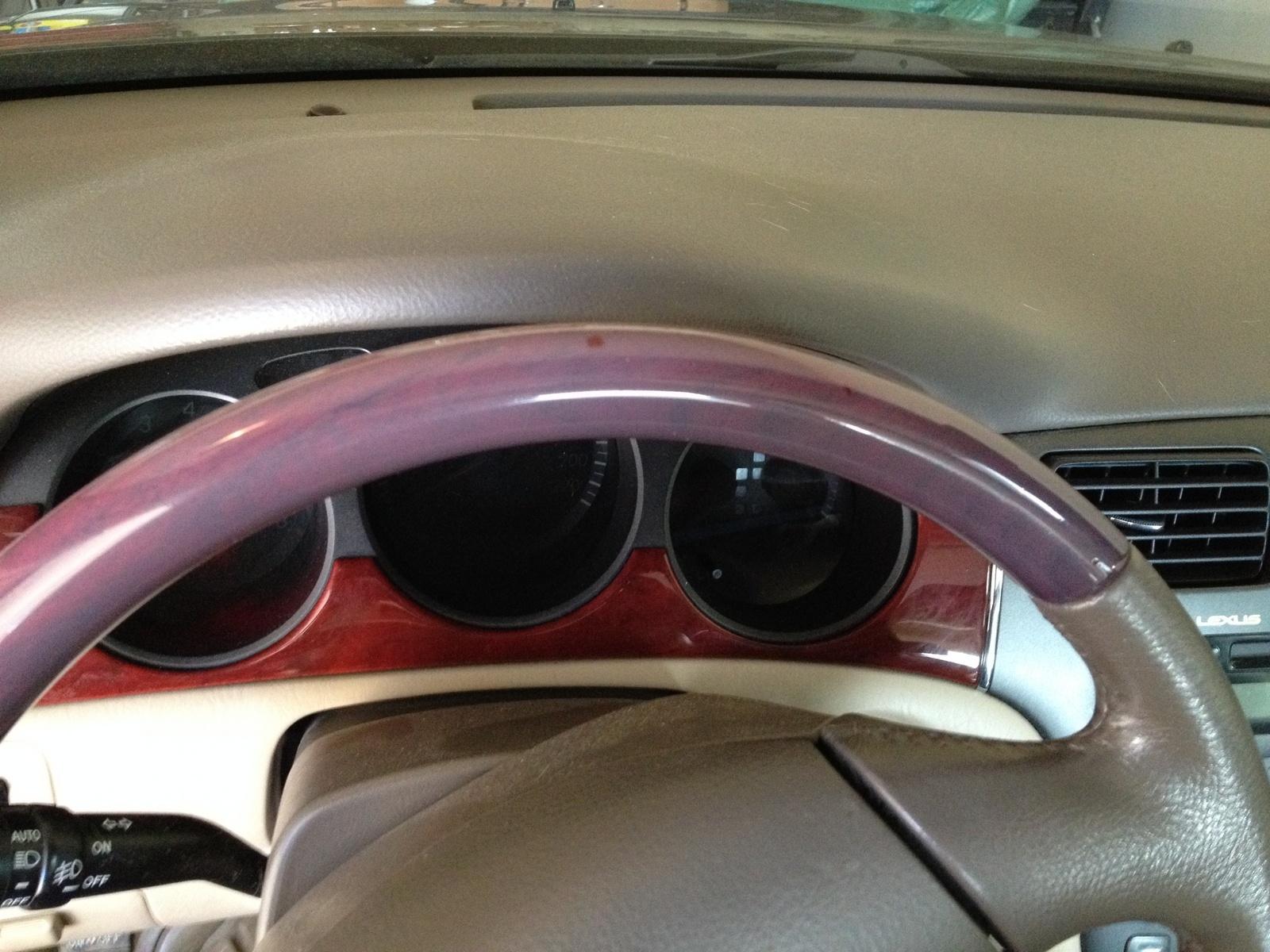 Lexus ES 300 Questions My 2003 Lexus ES300 Steering Wheel Wood