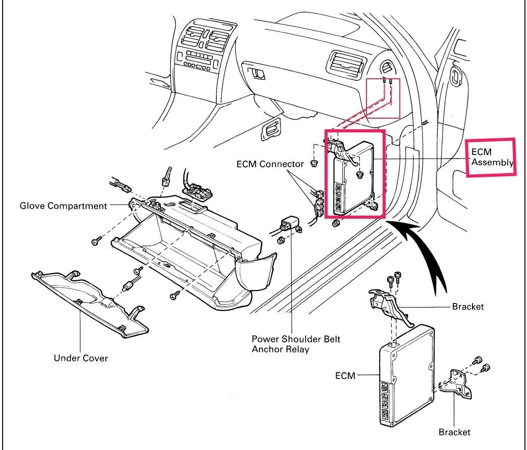 2000 lexus rx 300 under dash fuse box diagram
