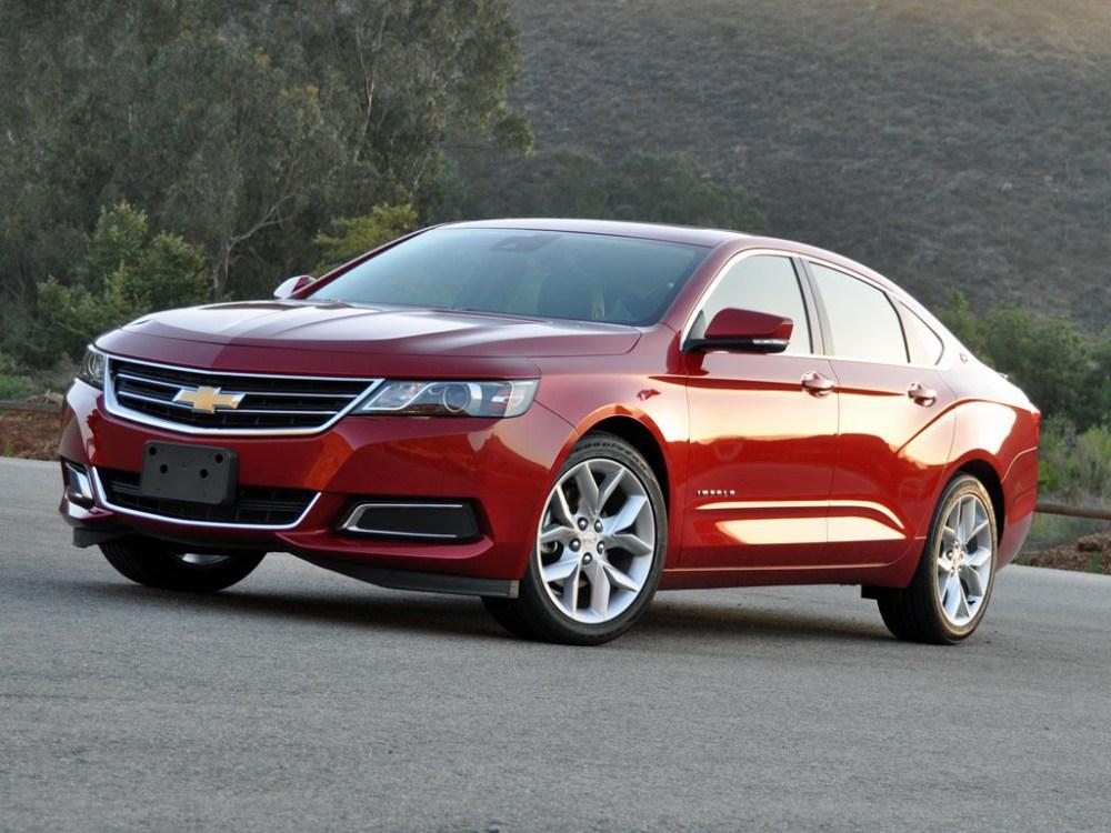 medium resolution of 2015 chevrolet impala test drive review