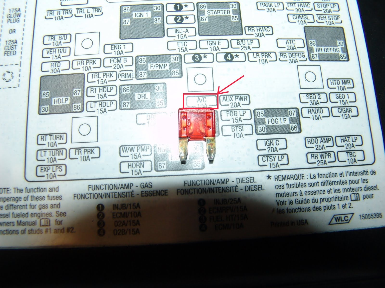 hight resolution of 94 chevy fuse box