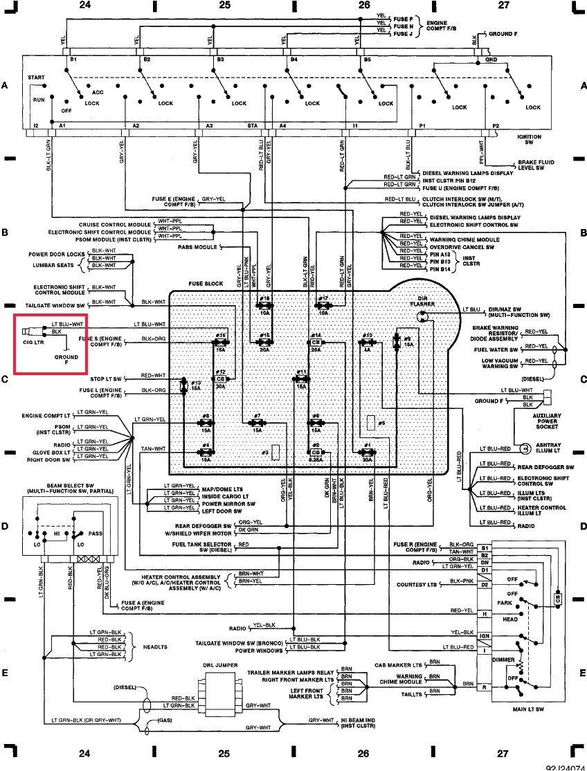Wiring Diagram PDF: 00 Super Duty Wiring Diagram