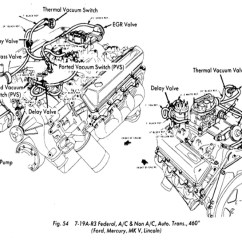 2004 Ford F150 Engine Diagram 1969 Firebird Dash Wiring Lincoln Continental Questions - Do Crescent Holes On A Carburetor Mounting Gasket Matter? Cargurus