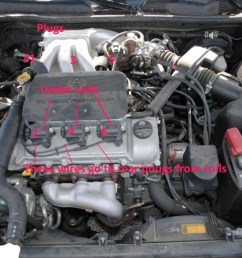 click for full screen for diy how to change spark plugs i know it says camry but is same  [ 1024 x 768 Pixel ]