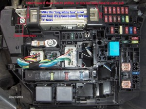 Toyota Corolla Questions  How do I change the alternator fuse in a 2010 Toyota corolla  CarGurus