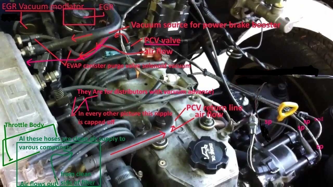 Electrical Wiring Routing Diagram 88 Toyota Pickup 22r