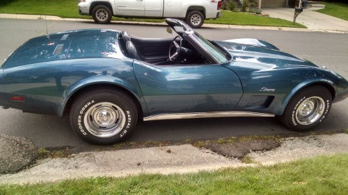 small resolution of chevrolet corvette questions the value of a 1975 corvette stingray cargurus