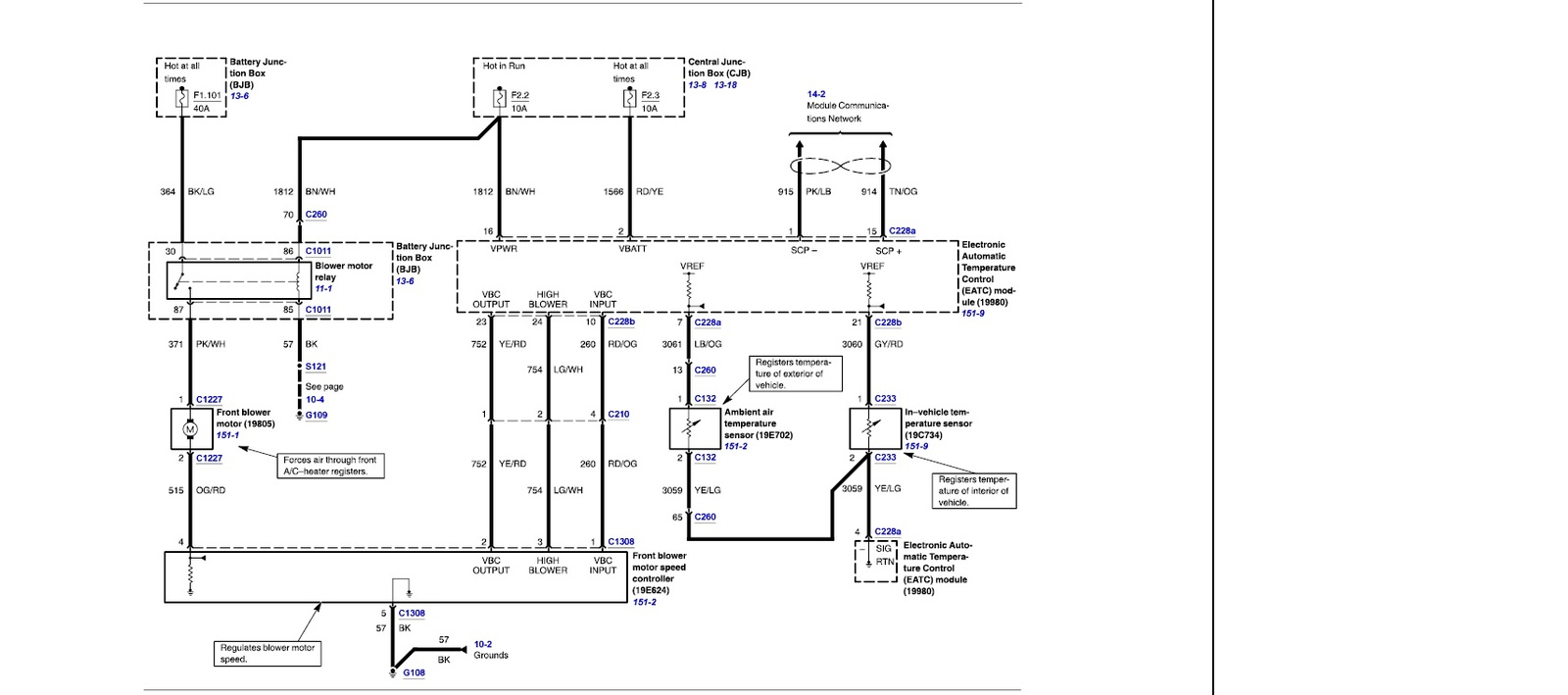 mercury wiring diagram bmw diagrams e90 grand marquis questions 1996 hvac 3 answers