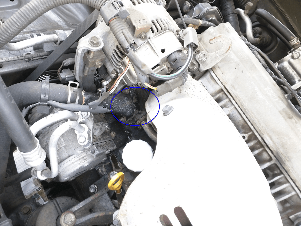 Toyota Coolant Leak