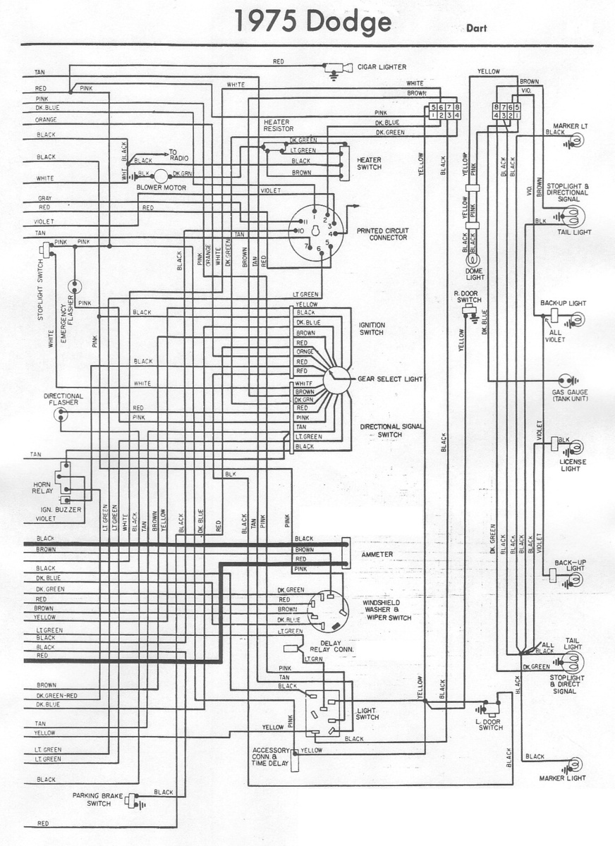 1965 Dodge Dart Wiring Harness : 30 Wiring Diagram Images