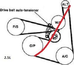 2002 Nissan Maxima Pulley Diagram. Nissan. Auto Parts