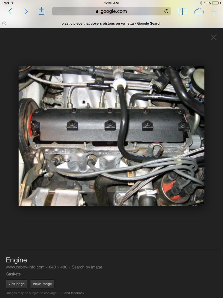 medium resolution of volkswagen jetta questions my valve cover oil deflector melted cargurus