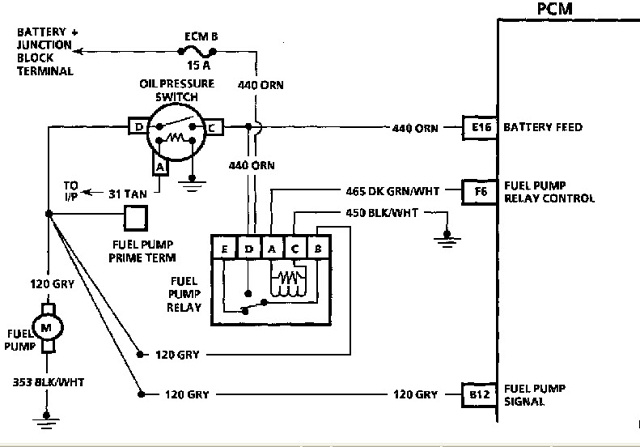 gm fuel pump wiring diagram led calculator for great installation of gmc detailed rh 7 6 ocotillo paysage com